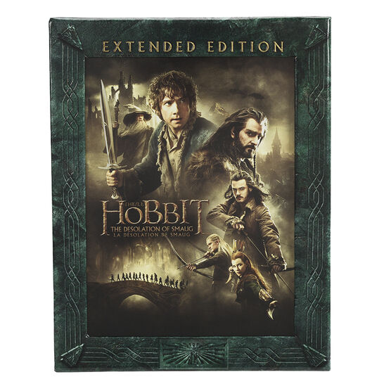 The Hobbit: The Desolation of Smaug (Extended Edition) - Blu-ray