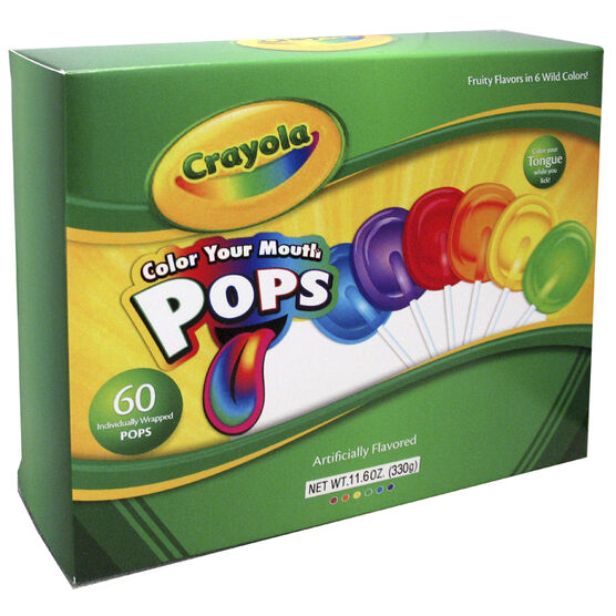 Crayola Colour Pops - 60's