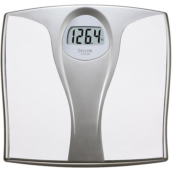 Taylor Lithium Electronic Scale - White - 7335EF