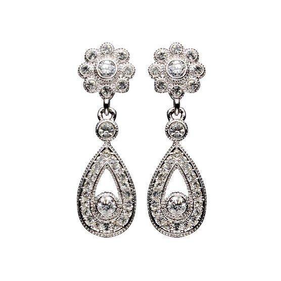 Eliot Danori Fleur Flower Earrings