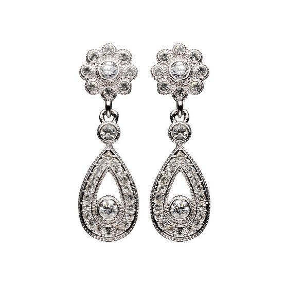 Eliot Danori Fleur Flower Earrings