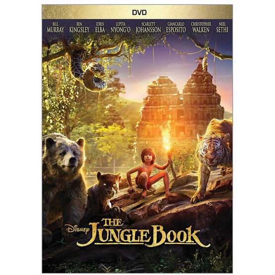 The Jungle Book (2016) - DVD