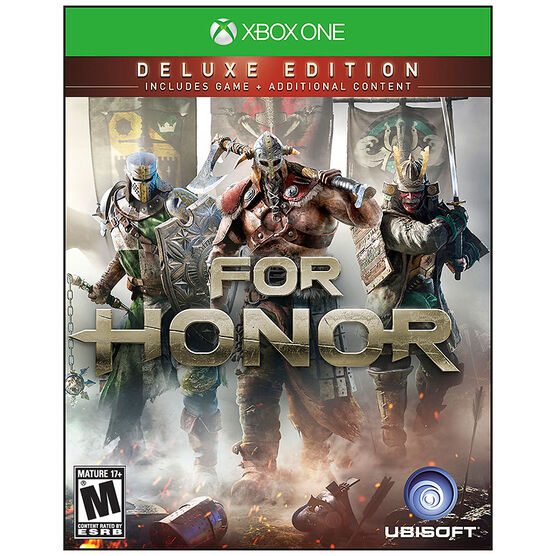 PRE-ORDER: Xbox One For Honor: Deluxe Edition