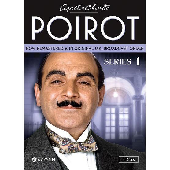 Agatha Christie's Poirot - Series 1 - DVD