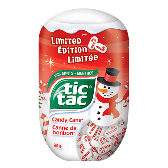 Tic Tac Limited Edition - Candy Cane - 98g
