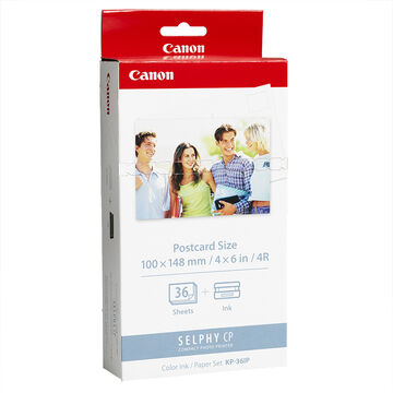 Canon KP-36IP Ink Cartridge & Paper Set - 36 Sheets