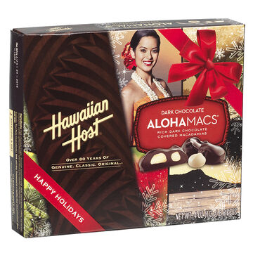 Hawaiian Host Dark Chocolate - Aloha Macadamias - 113 g