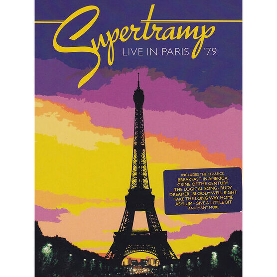 Supertramp: Live in Paris '79 - DVD
