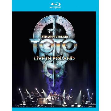 Toto: Live in Poland 35th Anniversary Tour - Blu-ray