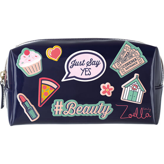 Zoella Beauty Sticker Cosmetic Bag