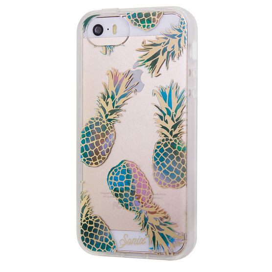 Sonix Clear Case for iPhone SE - Pineapple - SX2222240063
