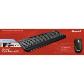 Microsoft Wired Desktop 600 - Black
