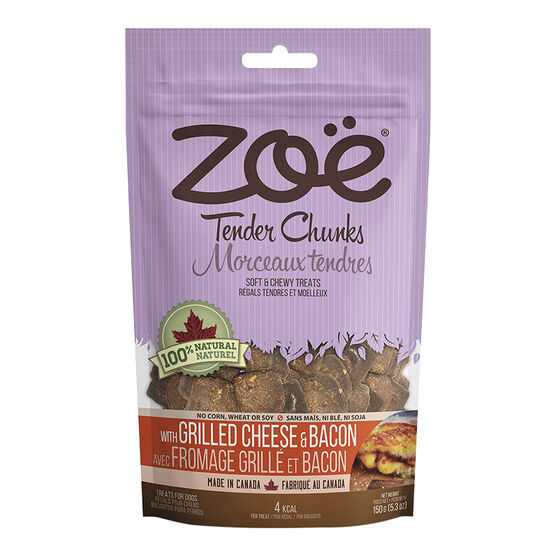 Zoe Tender Chunks Dog Treats - Chicken and Parmesan - 150g
