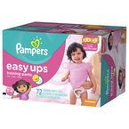 Pampers Easy Ups Trainers - Girls - 3T-4T - 72's/Super