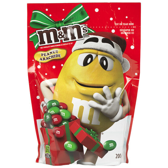 M&M's Milk Chocolate Peanut Holiday Mix - 200g