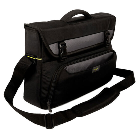 Targus City Gear Laptop Messenger - 15-17.3inch - Black - TCG270