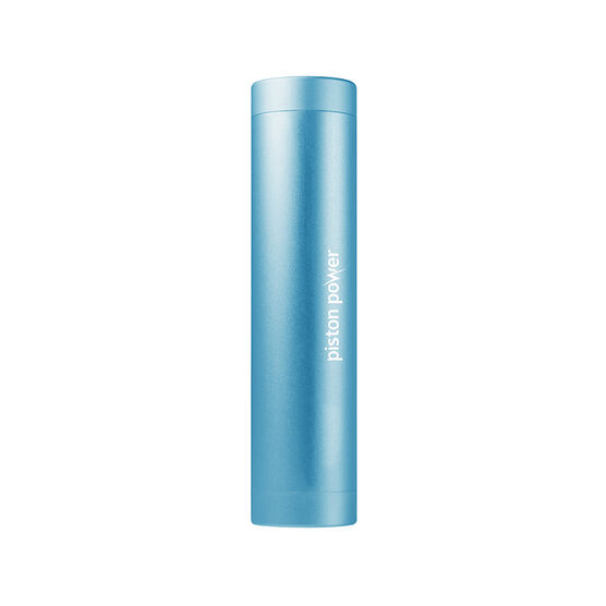 Logiix Piston Power 3400 mAh Portable Battery - Turquoise - LGX12111