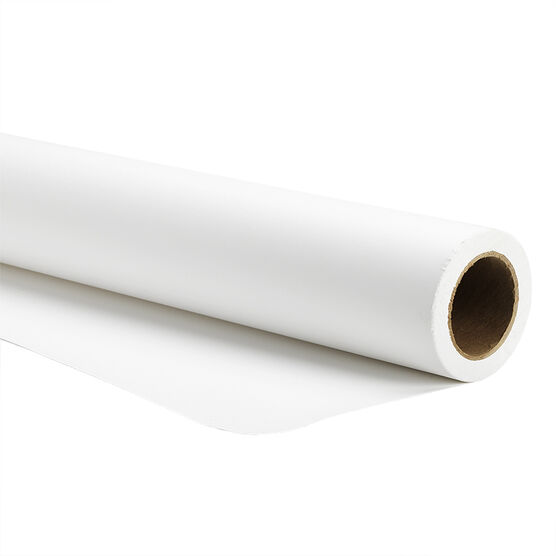 Savage Widetone Seamless Background Paper - White 50 - 9x36-feet