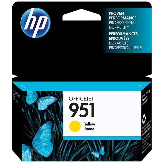 HP 951 OfficeJet Ink Cartridge - Yellow
