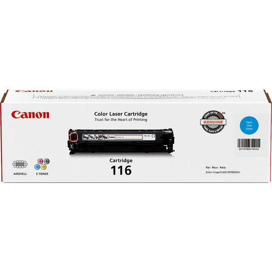 Canon CRG116 Cartridge Toner - Cyan - 1979B001