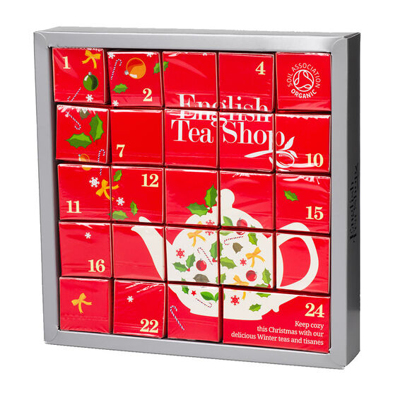 English Tea Shop Advent Calendar - 48g