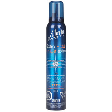 Alberto European Extra Hold Styling Mousse - 226g