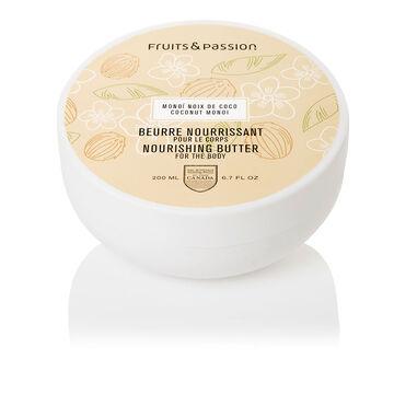 Fruit & Passion Nourishing Body Butter - Coconut Monoi - 200ml