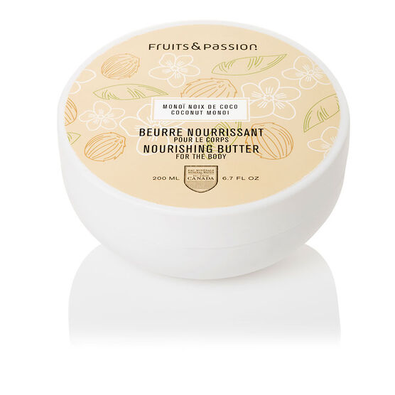 Fruit & Passion Nourishing Body Butter - Coconut Monoi - 200ml