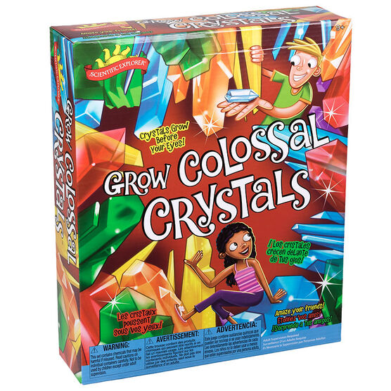 Scientific Explorer - Grow Colossal Crystals