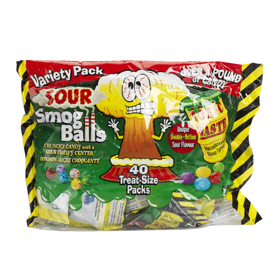Sour Smog Balls & Toxic Waste Candy - 40's