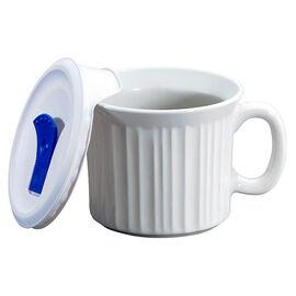 CorningWare Pop-in Mug - French White