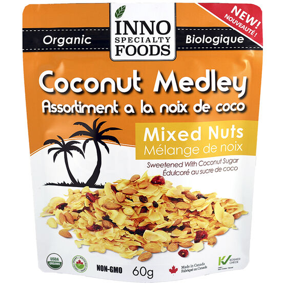 Inno Specialty Foods Coconut Medley - Mixed Nuts - 60g