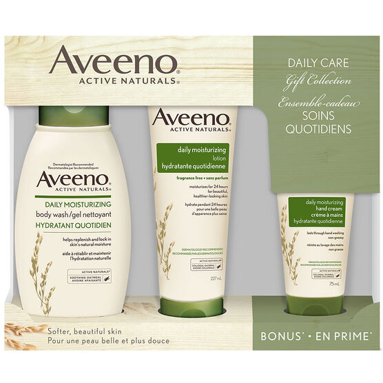 Aveeno Active Naturals Daily Care Gift Collection - 3 piece