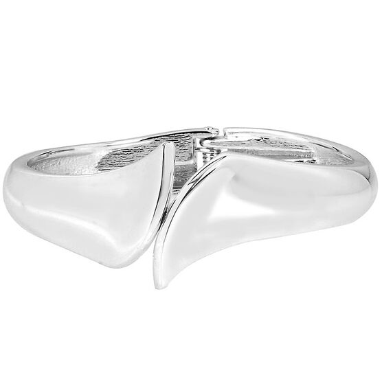 Robert Lee Morris Bypass Hinge Bangle - Silver