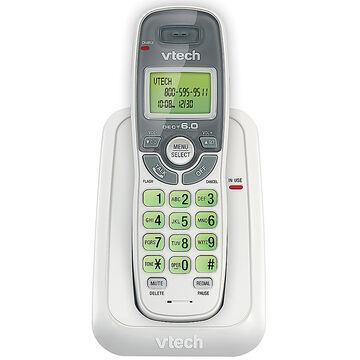 Vetch DECT Cordless Phone with Caller ID/Call Waiting - White - CS6114