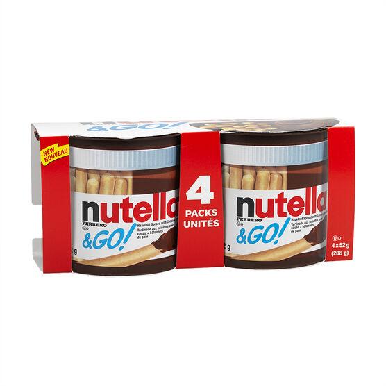 Nutella & Go  Multipak - 4x52g