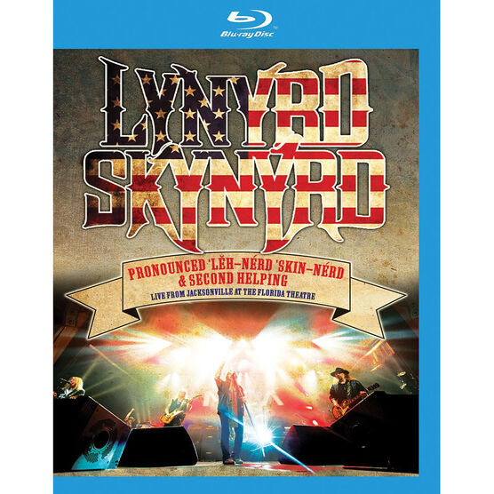 Lynyrd Skynyrd - Pronounced Leh-Nerd Skin-Nerd & Second Helping: Live from Jacksonville - Blu-ray