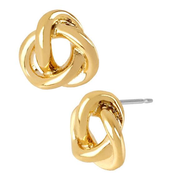 Robert Lee Morris Twist Stud Earrings - Gold