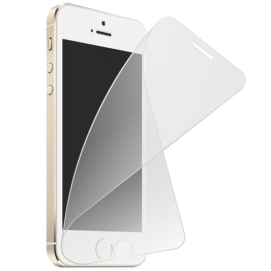 Caseco ScreenFlex Glass Screen Protector for iPhone SE - Clear - CCSFXIP5S