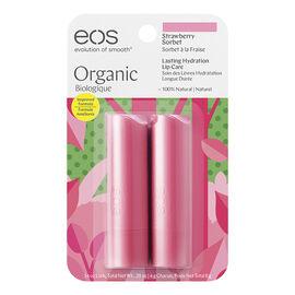 eos Lip Balm - Strawberry Sorbet - 2 x 4g
