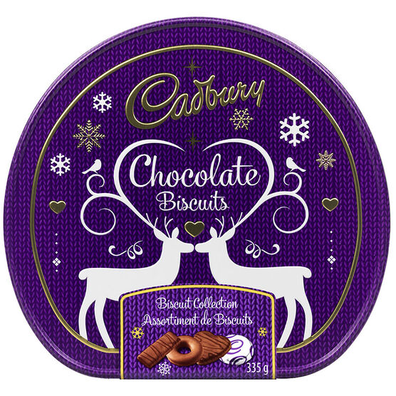 Cadbury Chocolate Biscuits - Biscuit Collection - 335g