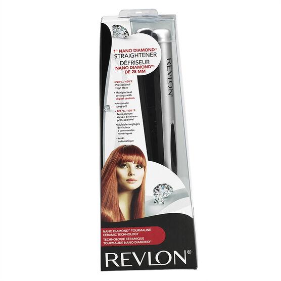 Revlon Nano Diamond Straightener - 1 inch - RVST2091F