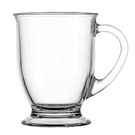 Anchor Hocking Clear Café Mug - 16oz