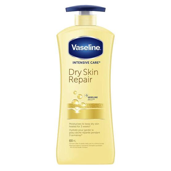 Vaseline Intensive Care Dry Skin Repair Lotion - 600ml