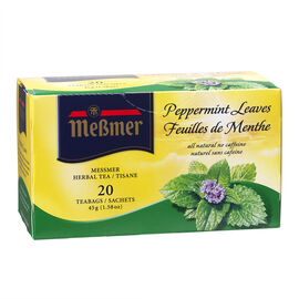 Messmer Tea - Peppermint Leaves - 20's