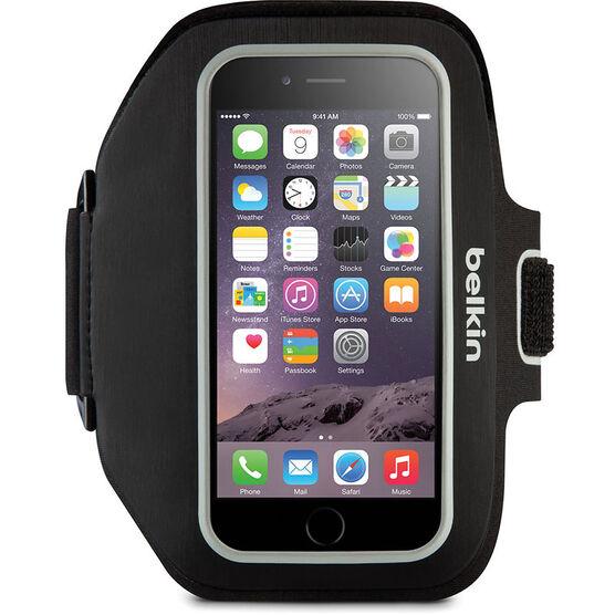 Belkin Sport-Fit Plus Armband for iPhone 6/6s - Black - F8W501BTC00