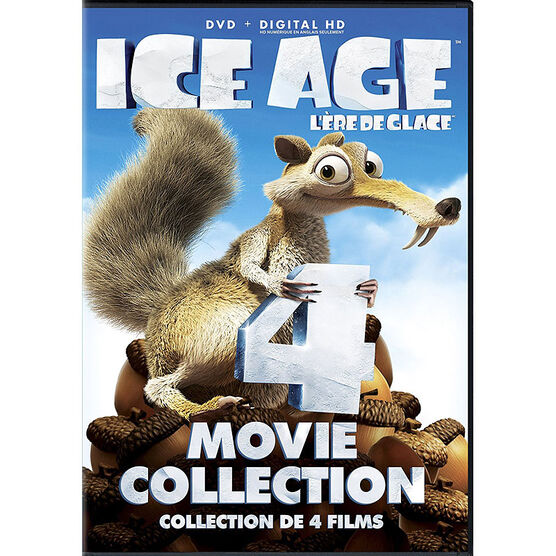Ice Age 4 Movie Collection - DVD