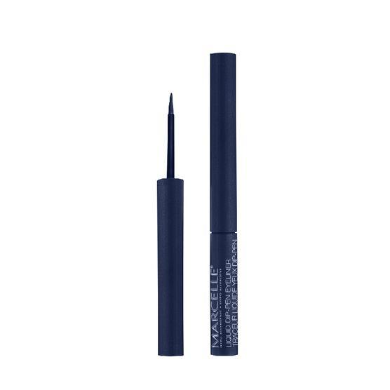 Marcelle Waterproof Liquid Dip-Pen Eyeliner - Navy