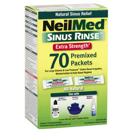 NeilMed Extra Strength Hypertonic Packets – 70's