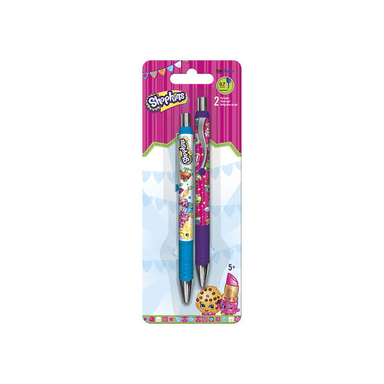 Inkworks Gel Pens - Shopkins - 2 pack
